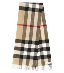 burberry half mega check archive scarf