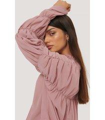 rut&circle blus - pink
