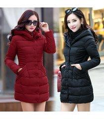 new winter coat woman long outerwear thicken parkas woman down & parkas coat fas