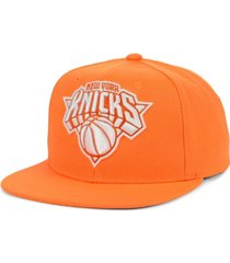 mitchell & ness new york knicks xl color dub snapback cap