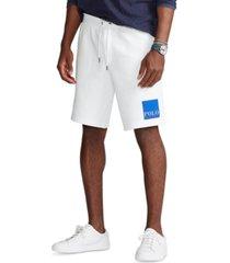 polo ralph lauren men's 7.5-inch logo double-knit shorts
