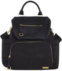 bolsa maternidade skip hop coleção chelsea backpack black