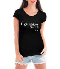 camiseta criativa urbana coragem feminina