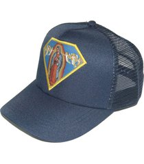gorra machado azul fight for your right