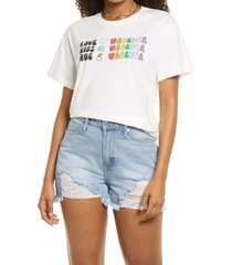 bp. be proud by bp gender inclusive graphic tee, size 4x-large - white