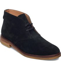 clarkdale dbt desert boots snörskor svart clarks