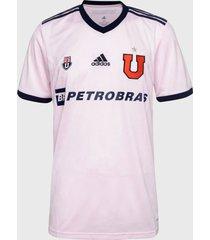 camiseta adidas performance uch a jsy rosa - calce regular