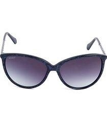 59mm oversized cat eye sunglasses