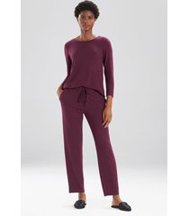 mirage pants, women's, purple, size m, n natori