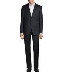bedford-fit wool-blend suit