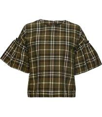 fuma top blouses short-sleeved multi/patroon birgitte herskind