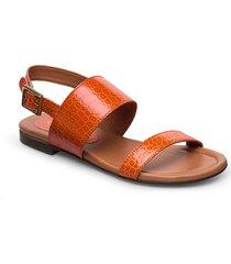 sandals 14010 shoes summer shoes flat sandals orange carla f
