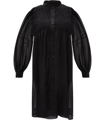 jurk met lange mouwen