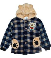 jaqueta casaco manabana infantil grossa com pelúcia viagem exterior