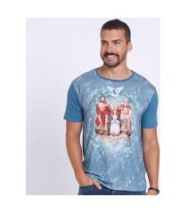 camiseta divino pai eterno dve4414 indigoblue ágape masculina