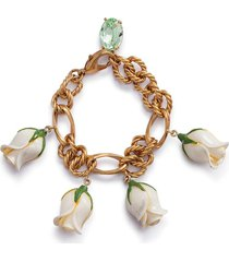 dolce & gabbana decorative charm bracelet - gold