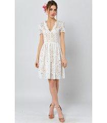 gwiazdnica - koronkowa sukienka ślubna/koktajlow