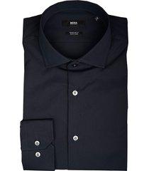 hugo boss overhemd gordon donkerblauw 50421509/404