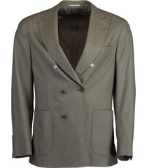 light flannel wool jacket