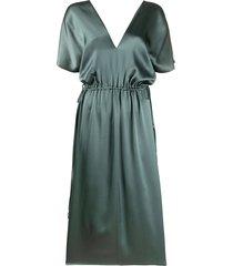alysi mid-length dress - green