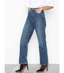topshop mid blue new boyfriend jeans loose fit