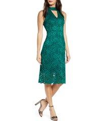 women's sam edelman keyhole lace sheath dress