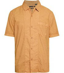 garment-dyed short-sleeve shirt
