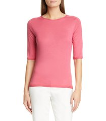 women's st. john collection wool & silk sweater
