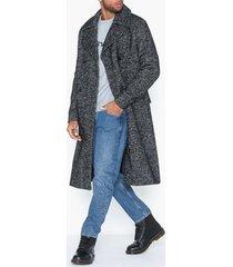 premium by jack & jones jprfalcon wool coat jackor mörk grå