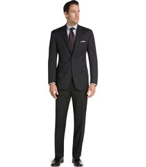 jos. a. bank men's classic collection tailored fit suit separate jacket clearance, charcoal, 44 long