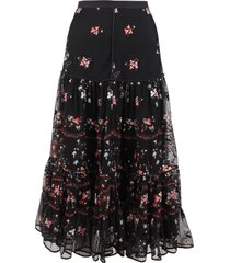 tory burch polyamide skirt