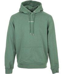 sweater calvin klein jeans micro branding hoodie