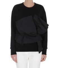 alexander mcqueen sweatshirt with bow