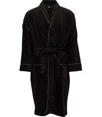 jbs, bath rope ochtendjas badjas zwart jbs