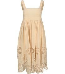 see by chloé see by chloe guipure dress
