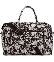 vera bradley iconic weekender travel bag