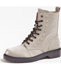 błyszczące buty w stylu militarnym model tavora