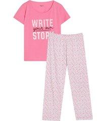 pijama mujer write color azul, talla l
