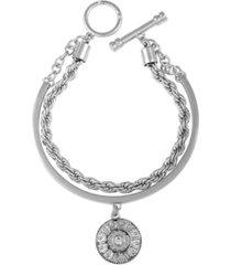 t tahari gypsy revival toggle bracelet
