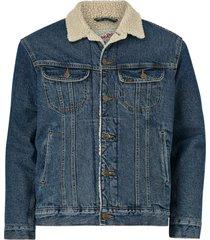 jeansjacka sherpa jacket