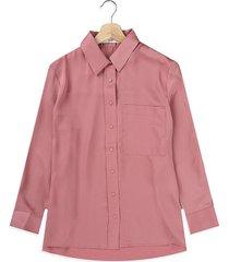 camisa rosa mng