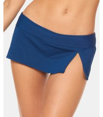 bleu rod beattie slit swim skirt women's swimsuit