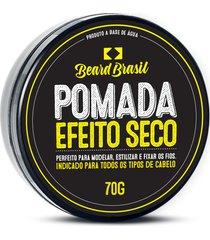 pomada beard brasil efeito seco 70 gr