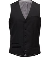 breck stretch suit gilet zwart matinique