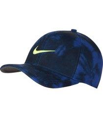 gorra de golf nike aerobill classic99 champion-azul