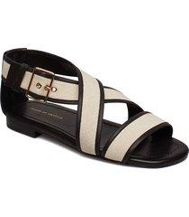 sorbil c shoes summer shoes flat sandals creme tiger of sweden