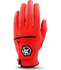 new asher's men's golf glove! w0w free !  red champ fly tee white