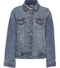 cozy denim jacket jeansjacka denimjacka blå abercrombie & fitch
