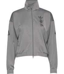 lrg logo tt sweat-shirt tröja grå adidas originals