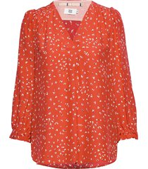 blouse blus långärmad orange noa noa